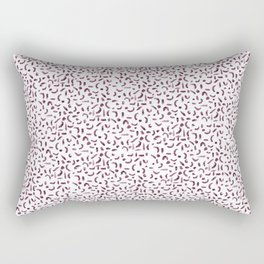 Mulberry marks Rectangular Pillow