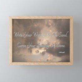 Blessings Framed Mini Art Print