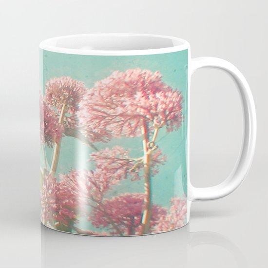 Pink Milkweed Mug