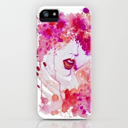 Lip service iPhone Case