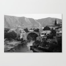 The Old Bridge, Mostar Canvas Print