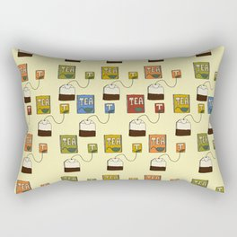 Tea bags Rectangular Pillow