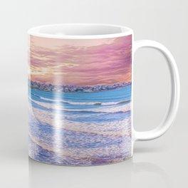 First Beach - Cliff Walk Newport, Rhode Island Sunset Landscape Coffee Mug