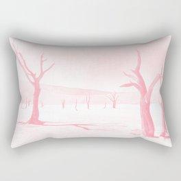 deadvlei desert trees acrpw Rectangular Pillow