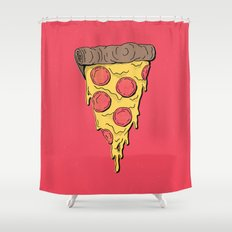Pizza Party! Shower Curtain