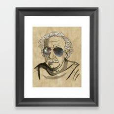 Albert's Sunglasses II Framed Art Print