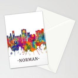 Norman Oklahoma Skyline Stationery Cards