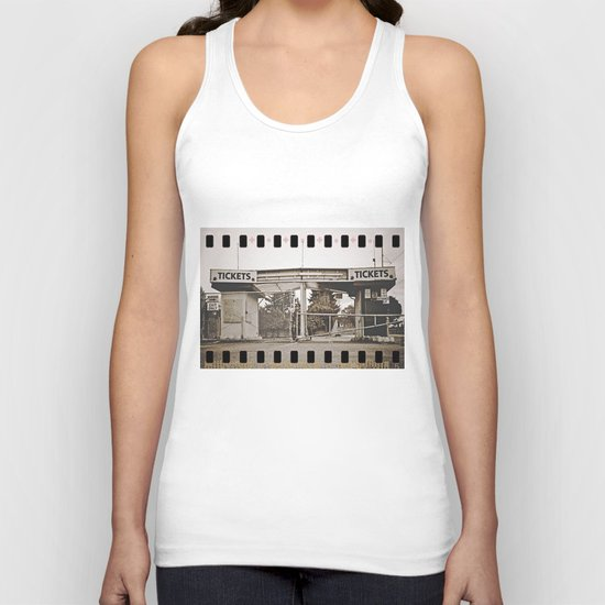 Tickets to the past Unisex Tank Top