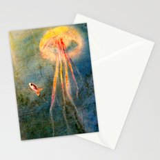 Glow of the jellyfish Stationery Cards