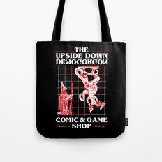 The Upside Down Demogorgon - Stranger Things Have Happened Tote Bag