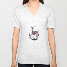 Fawn and Thistle Unisex V-Neck