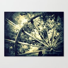 tailing wheels I Canvas Print