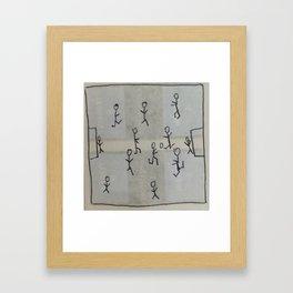 Tactic Framed Art Print