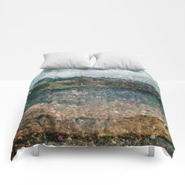 MM 333 . Purple x Mountain Scapes Comforters