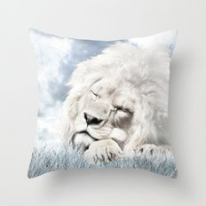 Barbary Lion Throw Pillow