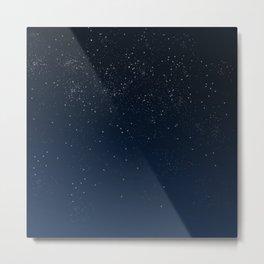 Stars in Space Metal Print