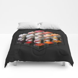 Sushi Cubed Comforters