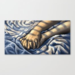 Your bed Canvas Print