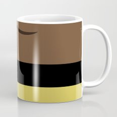 Worf - Minimalist Star Trek TNG The Next Generation - Enterprise 1701 D - startrek - Trektangles Mug