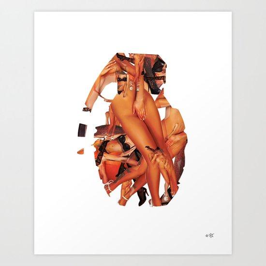 SEX BOMB!!! Art Print