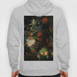 "Jan van Huysum ""Still life with flowers and fruits"" Hoody"