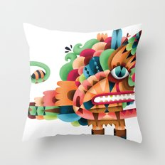 Love Unicorn Throw Pillow