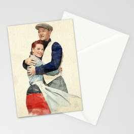 The Quiet Man - Watercolor Stationery Cards