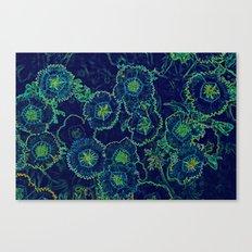 Blue Fantasy Canvas Print