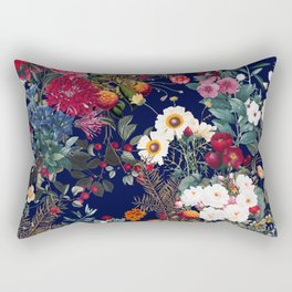 Midnight Garden VI Rectangular Pillow