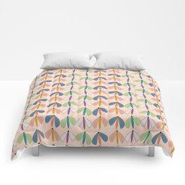 Summer Night Flutters   Peach Comforters