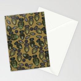 Gemstones 6 Stationery Cards