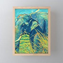 Cute Forest Wild Animal Art Print Framed Mini Art Print