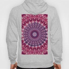 Pink and violet mandala Hoody