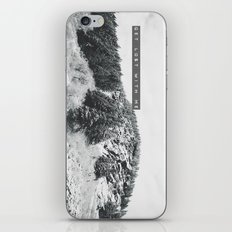 GET LOST WITH ME in the MONTANA MOUNTAINS  iPhone & iPod Skin