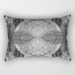 Black and white abstract pattern Rectangular Pillow
