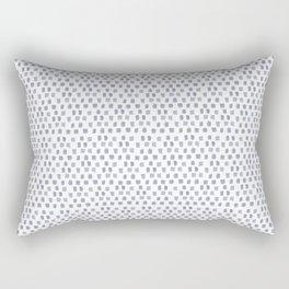 Sketchy Dot Rectangular Pillow