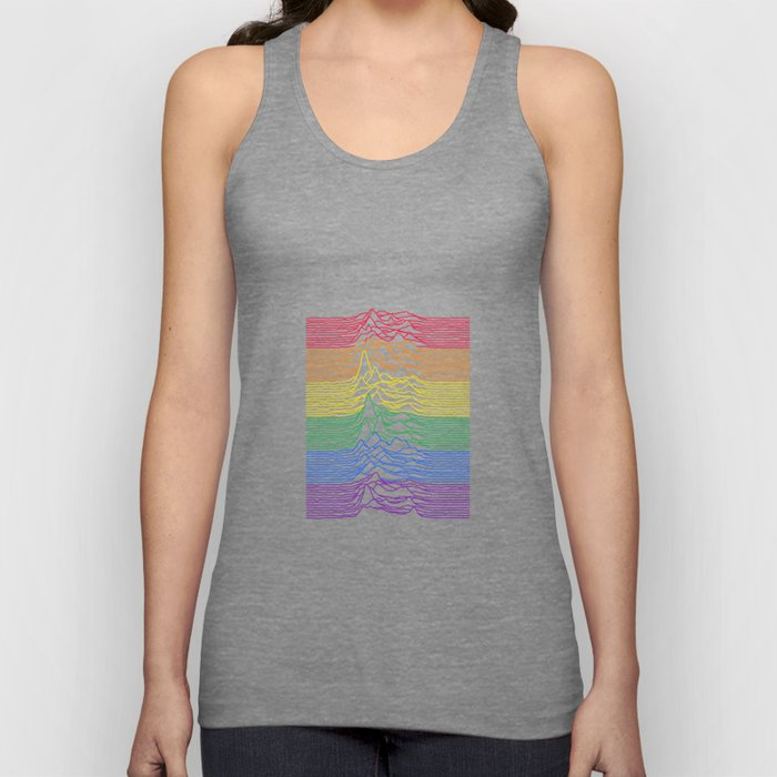 Unknown Rainbow Pleasures Unisex Tank Top