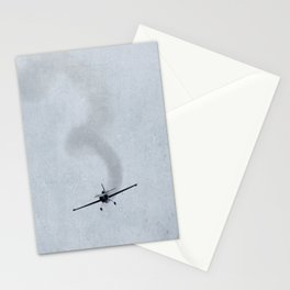 Looping Plane Stationery Cards