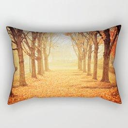 The Poetry of Autumn Rectangular Pillow