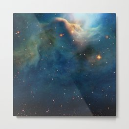 Dusty Nebula Metal Print