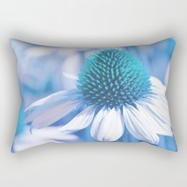 Coneflower blue 11 Rectangular Pillow
