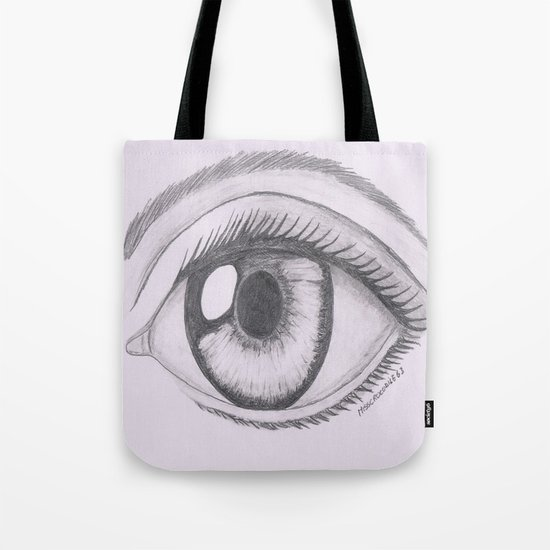 Keep your eyes open and see.... Tote Bag