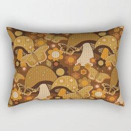 Mushroom Stitch Rectangular Pillow