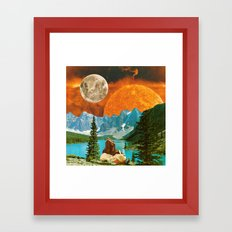 Big mineral Framed Art Print