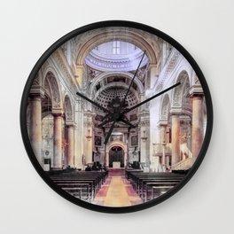 Trapani art 6 Wall Clock