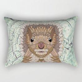 Ornate Squirrel Rectangular Pillow