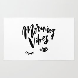 Morning vibes Rug