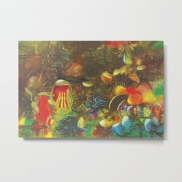 Ocean's Edge - The End of a Dream landscape by R. Matta Metal Print