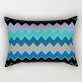 blue lines Rectangular Pillow