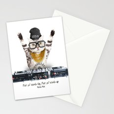 Thug Cat Stationery Cards